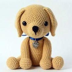 Lucky puppy amigurumi pattern - printable PDF