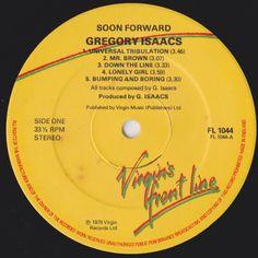 Gregory Isaacs - Soon Forward (Label)