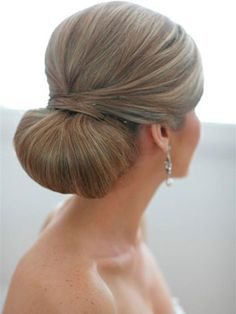 Hair Inspiration | Polished Chignon #paul #mitchell #pmtscostamesa #sleek #classy #elegant #hairstyles #updo #wedding