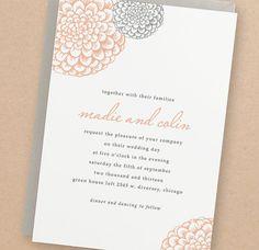 Printable Wedding Invitation Template  INSTANT por SwellAndGrand