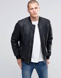 Chaquetas de cuero para hombre  moda  hombre  chaqueta  cuero  leather   otoño  invierno  2016  2017 f3565326d26