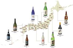 There are more than 1,800 sake breweries and shochu distilleries in Japan. Highlighting Japan has profiled nine leading representatives from Hokkado to Okinawa.