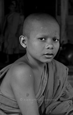 monk boy, Faces continued // Cambodia