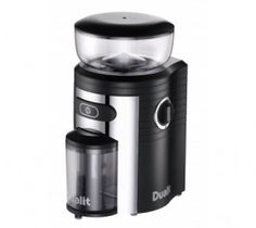 Produce consistently ground coffee and preserves the maximum aroma of the bean. Dualit burr coffee grinder black/chrome. #coffee #black #aroma #ground #modern #home #renovatestore