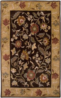 The #Arearugs collection offers the stylized, graceful florals on neutral backgrounds & cool,warm colors. Each #rugs is made from a high-quality wool blend for durability & comfort.