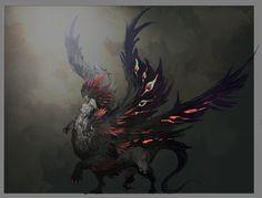 ArtStation - Castlevania Lords of Shadows 2, Raisa true form Concept Art, Jorge Benedito
