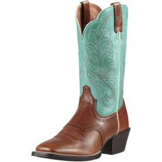 834740967c3c Ariat Brown Mesquite Cowgirl Boots Western Boots