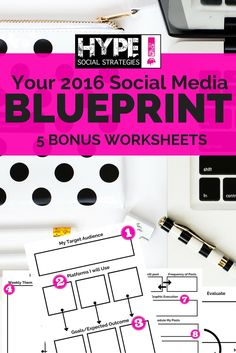 2016 is officially walking in the front door! Are you ready and does your biz have a social media plan? I'm going to personally walk you through creating a social media plan for 2016. AND just so you can make 2016 your best year yet, I created a blueprint just for you. Why yes I did, so hands up!!! Great, let's get started! DOWNLOAD 2016 SOcial meida Strategy Blueprint I am sure by now you have determined that in order to create some killer online attraction, you need social media. You...