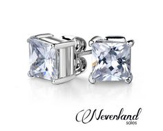 Make the most of those lobes you've been blessed with.  Grab a pair of square or round cut cubic zirconia earrings for only $9 including nationwide delivery.