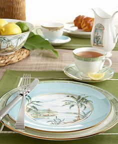 "For when my whole house is Tiki - Lenox ""British Colonial"" Dinnerware Collection - Fine China - Dining & Entertaining - Macy's"