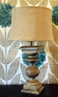 Baluster Table LampBaluster Table Lamp