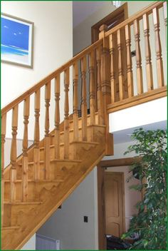 Berriew Provincial Softwood Staircase Banisters, Traditional Looks, Open Up, Real Wood, Wood Doors, Glass Panels, Case Study, Living Spaces, Hardwood