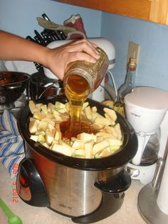 Apple Butter Recipe With Honey - Show Me The Honey! - Christopher Beeson - Beekeeper Blog - St Louis Missouri