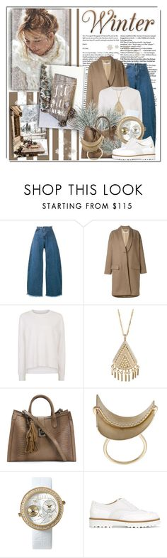 """""""Let It Snow......"""" by queenrachietemplateaddict ❤ liked on Polyvore featuring Marques'Almeida, Givenchy, Sweaty Betty, Anna Beck, Wasson, ELLE Time & Jewelry and Hogan"""