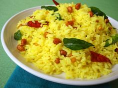 Nimmakaya Annam ~ Lemon Rice - Indian Food Recipes | Andhra Recipes | Indian Dishes Recipes | Sailu's Kitchen