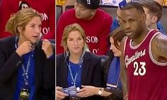 LeBron James catches Warriors fan calling him a crybaby during game