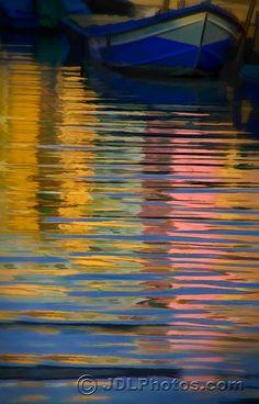 Reflections of Burano, Italy http://www.venice-italy-veneto.com/a-lifetime-of-italy.html