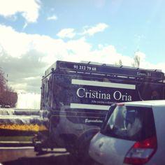 Cristina oria's truck