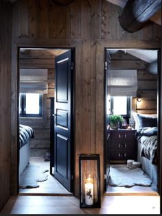 Interior exterior, best interior, cabins and cottages, cabin design, winter Chalet Interior, Best Interior, Interior Design, Interior Doors, Cabin Homes, Log Homes, Villa Design, Cabin Design, Cabin Interiors