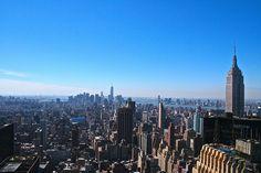 New York City Skyline from Chrysler Building