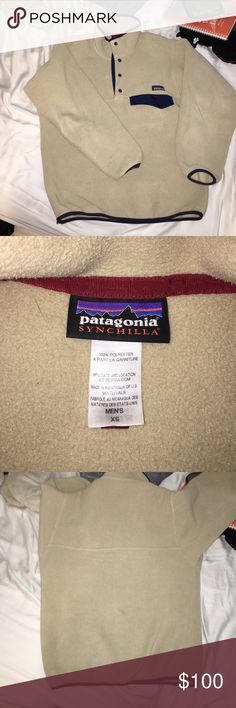 Patagonia Synchilla Snap T Pullover Been worn but looks brand new! It's a men's XS but fits like a women's small. Very comfortable and warm. Let me know in the comments if you have any questions! Hoping to trade for Patagonia. Patagonia Sweaters
