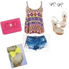 Summer Fun; a outfit i created on polyvore