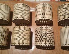 Flexible Laser Cut Bracelet Vector Art Files