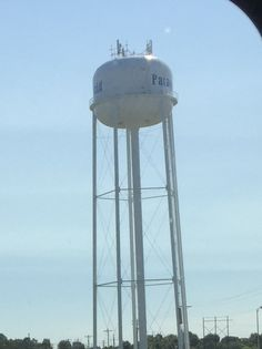 One of Paragould, Arkansas' water tower