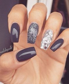 16 MOST GORGEOUS GREY NAIL IDEAS #nailart