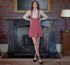 Love Alexa Chung? You need to see (and shop) her new clothing line, debuting today.