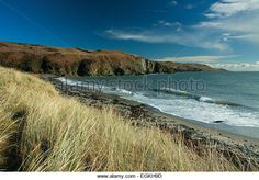 Point of Lag, The Machars, Dumfries and Galloway - Stock Image Stock Photos, Mountains, Beach, Amazing, Water, Travel, Outdoor, Image, Gripe Water