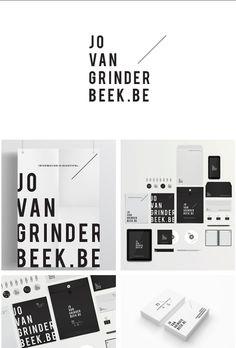 Jo van grinder beek.be| #stationary #corporate #design #corporatedesign #logo #identity #branding #marketing <<< repinned by an #advertising agency from #Hamburg / #Germany - www.BlickeDeeler.de | Follow us on www.facebook.com/BlickeDeeler