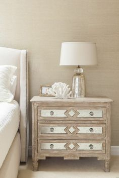 Set decorating Shabby Chic chest of drawers sideboard bedroom