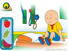Caillou Check up - doctor's office doctors games kids apps