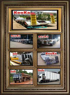 KAROSERI TRAILER LOW BED >> KAROSERI KENKA