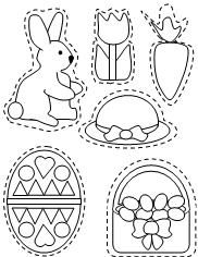 Color Easter Ornaments from Making Learning Fun