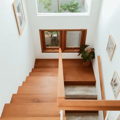 Image 25 of 25 from gallery of Gemala House / LUWIST. and floor plan Compact House, Garden Spaces, 2nd Floor, Floor Plans, Stairs, Indoor, House Design, Flooring, How To Plan