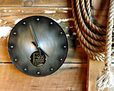 Industrial steampunk clock