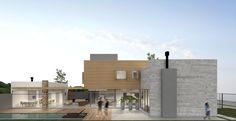 Térreo Arquitetos - Casa A VITRINE Mansions, House Styles, Home Decor, Architects, Glass Display Case, Houses, Luxury Houses, Interior Design, Home Interior Design