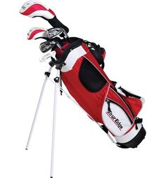 The best value in junior golf these HT Max-J junior boys golf sets by Tour Edge feature a powerful driver, an effortless-to-hit fairway wood, forgiving hybrid, easy-to-hit irons and a mallet style putter Kids Golf Clubs, Junior Golf Clubs, Ladies Golf Clubs, Golf Clubs For Sale, Best Golf Club Sets, Best Golf Clubs, Golf Card Game, Dubai Golf, Crazy Golf