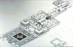 villa lante plan - Google Search: