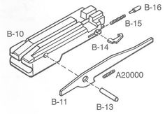 Ruger 10-22 Bolt Exploded View: