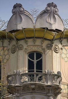 Art Nouveau: Torino liberty. Casa LaFleur, via Principi d'Acaja 11, Turin - province of Turin, Piemonte region Italy - | JV