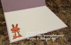 Stampin' Up!   Inside View: We Must Celebrate Easter