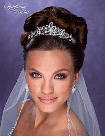 Symphony Bridal 7202CR Crown http:shopforbridaldirect.com