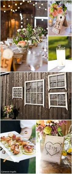 santa margarita ranch wedding details of the reception - cool table numbers