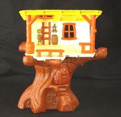 "Weebles Winnie the Pooh Hunny Tree 1974 Hasbro House Treehouse 13"" Vintage Sears #Hasbro"