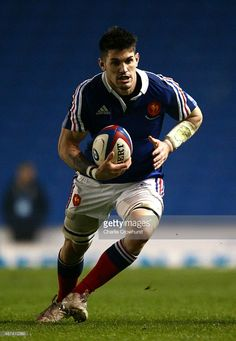 Lucas Bachelier of France during the Under 20 Six Nations Championship match between England U20 and France U20 at The Amex Stadium on March 20, 2015 in Brighton, England.