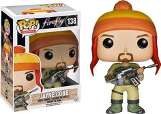 Firefly - Jayne Cobb Pop! Vinyl Figure Jayne Cobb, the muscle on Serenity. Along with the rest of the crew they deliver questionable cargo around the universe for a fee, which inevitably ends in some sort of altercation. Proudly brought to you by Popcultcha, Australia's largest and most comprehensive Pop! Vinyl on-line store. Click here to see more of our great Pop! Vinyl products.