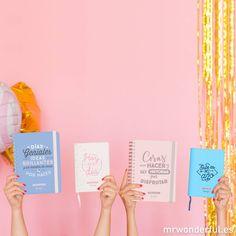Pst, pst ¿Conoces a estas 4 hermosuras? Son las nuevas agendas wonder y son requeté bonitas.